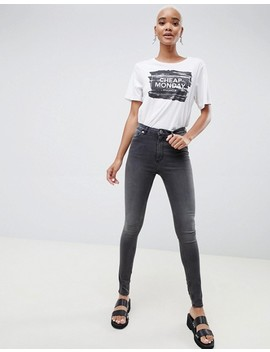 Cheap Monday High Snap Skinny Jeans by  Cheap Monday