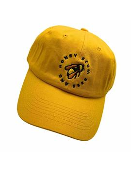 Golf Wang Baseball Cap Bee Embroidered Dad Hats Adjustable Snapback Cotton Hat Unisex by Chen Guoqiang