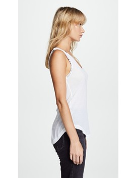 Tam Foil Tank by Zadig & Voltaire