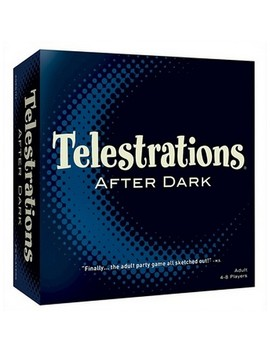 Telestrations After Dark Board Game by Us Aopoly