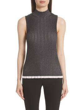 Tensleep Cashmere & Silk Tank Top by Burberry