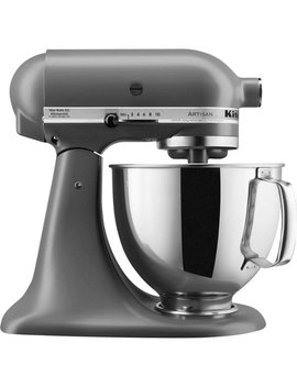 Artisan Tilt Head Stand Mixer   Matte Gray by Kitchen Aid