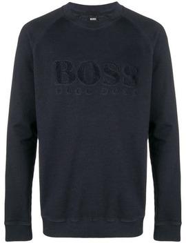 Logo Sweatshirt by Boss Hugo Boss