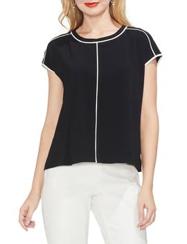 Cap Sleeve Top by Vince Camuto