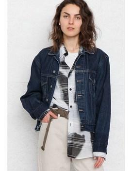 Vintage Blue His Denim Jacket by Vintage Lady