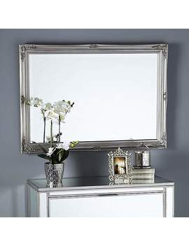 Swept Bevelled Mirror by Dunelm
