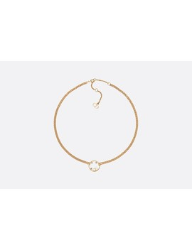 D Round Choker by Dior