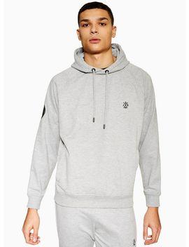Jog On Grey Loopback Pullover Hoodie* by Topman