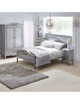 Toulouse Silver Bedroom Collection by Dunelm