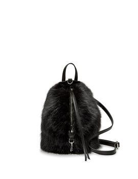 Faux Fur Convertible Mini Julian Backpack by Rebecca Minkoff