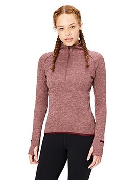 Core 10 Women's Be Warm Fitted Thermal Fitted Run Half Zip (Xs Xl, Plus Size 1 X 3 X) by Core+10