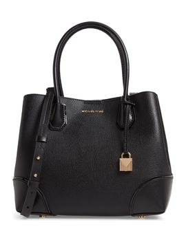 Medium Mercer Gallery Leather Satchel by Michael Michael Kors