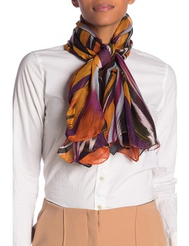 Print Oversize Shawl Scarf by Missoni