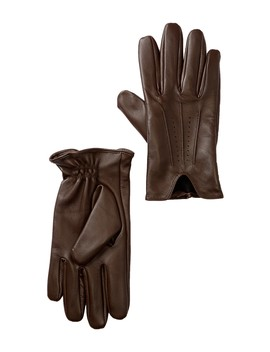 Perforated Leather Gloves by Nordstrom