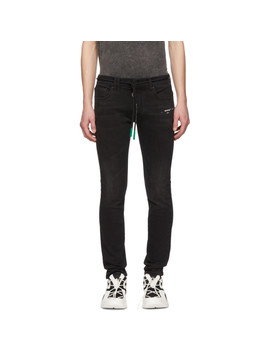 Black Skinny Jeans by Off White