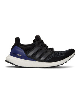 Black & Grey Ultra Boost Sneakers by Adidas Originals