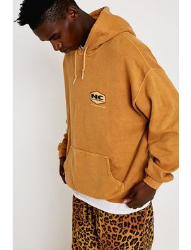 """Urban Outfitters– Hoodie """"Nature Calls"""" In Beige by Urban Outfitters Shoppen"""