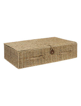 John Lewis & Partners Fusion Seagrass Under Bed Storage Box by John Lewis & Partners
