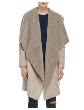 Esme Faux Shearling Jacket by John + Jenn