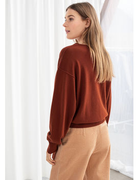 Scoop Neck Cashmere Sweater by & Other Stories