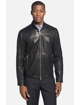 'morvek L.Kelleher' Sheepskin Leather Jacket by Theory