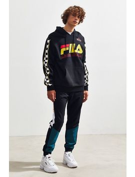 Fila Racing Hoodie Sweatshirt by Fila