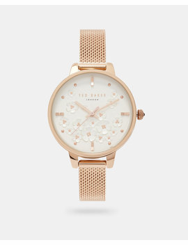 Mesh Strap Watch by Ted Baker
