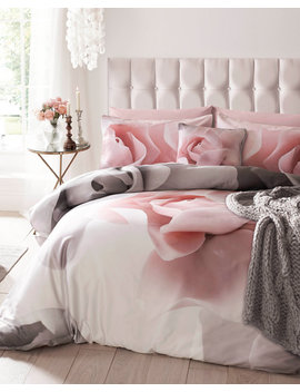 Porcelain Rose Double Duvet Cover by Ted Baker