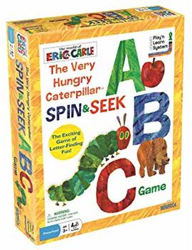 The World Of Eric Carle The Very Hungry Caterpillar Spin & Seek Abc Game by Briarpatch