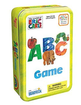 The World Of Eric Carle Abc Game Tin by Briarpatch