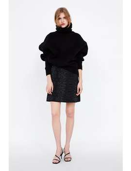 Animal Print Jacquard Skirt  Mini Skirts Woman by Zara