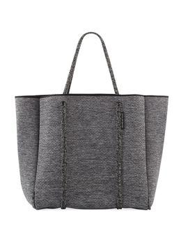 Cityscape Mark Neoprene Tote Bag by State Of Escape