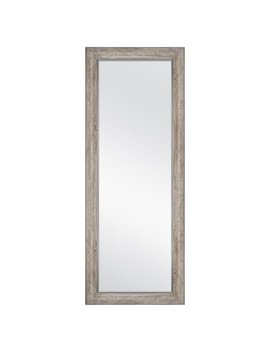 """Better Homes & Gardens 27"""" X 70"""" Leaner Mirror, Gray Rustic by Better Homes & Gardens"""