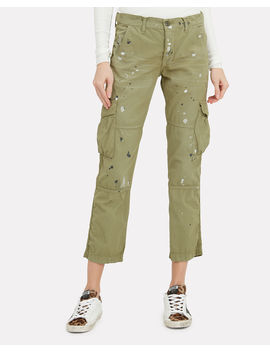Basquiat Paint Splatter Cargo Pants by Nsf