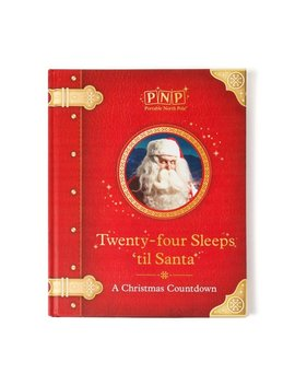Portable North Pole 24 Sleeps Until Santa Christmas Storybook With Personalized Video Message From Santa by Portable North Pole