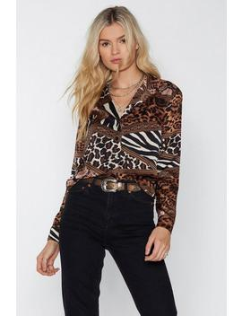 Take A Bite Animal Shirt by Nasty Gal