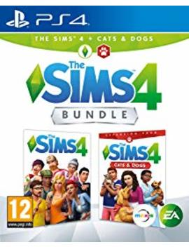 The Sims 4 Plus Cats And Dogs Bundle (Ps4) by By          Electronic Arts