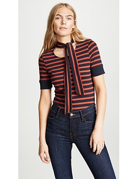 Scarf Stripe Tee by Frame