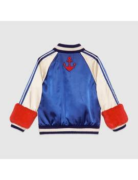 Children's Embroidered Bomber Jacket by Gucci
