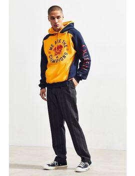 Champion X Queen Colorblock Hoodie Sweatshirt by Champion