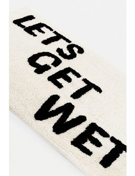 Let's Get Wet Bath Mat by Urban Outfitters