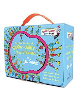 Little Blue Box Of Bright And Early Boar (Board Book) by Dr. Seuss
