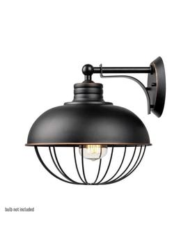 Globe Electric 65413 Caged Wall Sconce, Oil Rubbed Bronze by Ebay Seller