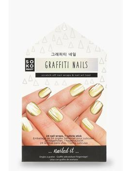 Soko Ready Graffiti Nails by Boohoo