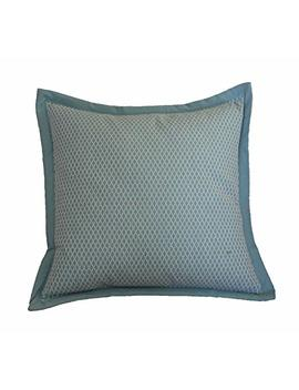 Am Home 0745 Diamond Stitch Pillow With Flange Edge by Am Home