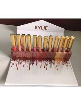 Kylie Jenner 12 Envelope Gold Limited Edition Kit 12 Liquid & Matte Lipstick Uk by Ebay Seller