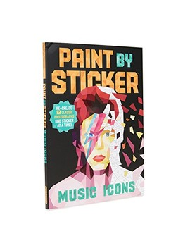 Paint By Stickers: Music Icons by Books With Style