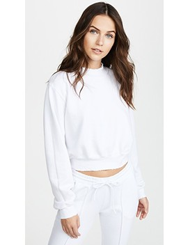 Milan Cropped Sweatshirt by Cotton Citizen