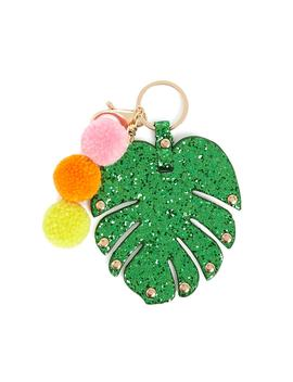 Tropical Leaf Keychain by Forever 21