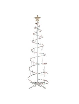 6' Christmas Incandescent Spiral Tree Multicolored   Wondershop™ by Wondershop